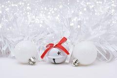 White Christmas background Royalty Free Stock Photo