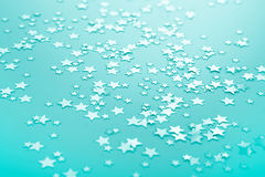 White christmas background with stars. Stock Images