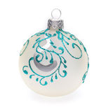 White christmas ball Stock Images