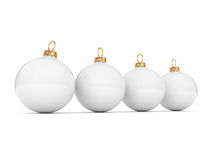 White Christmas ball Royalty Free Stock Photos
