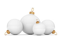 White Christmas ball Stock Photo