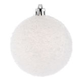 White Christmas bauble Royalty Free Stock Photography