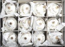 White Christmas decoration Stock Image
