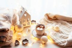White Christmas decoration Royalty Free Stock Images