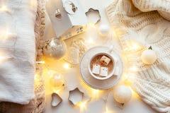 White Christmas decoration Royalty Free Stock Photo