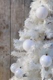 White christmas decoration Stock Photography