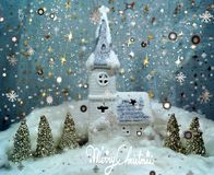 White Christmas 9 Royalty Free Stock Image