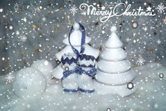 White Christmas 3 Royalty Free Stock Image