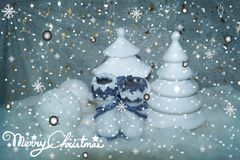 White Christmas 8 Stock Images
