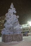 White Christmas em Toronto Fotos de Stock Royalty Free