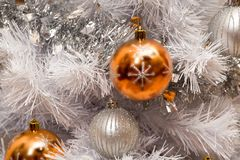 White Christmas magic Royalty Free Stock Photography