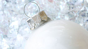 White Christmas Ornament Royalty Free Stock Photos