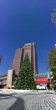 White Christmas in Phoenix Downtown, AZ Stock Image