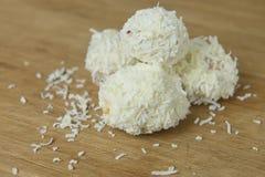 White Christmas Snowballs Royalty Free Stock Photo