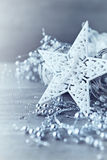 White Christmas Star Royalty Free Stock Images