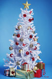 White christmas tree Royalty Free Stock Photography