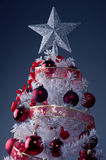 White Christmas tree ... Royalty Free Stock Photography