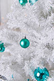 White Christmas tree Royalty Free Stock Photos