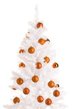 White Christmas tree Royalty Free Stock Images