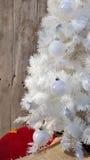 White christmas tree Stock Image