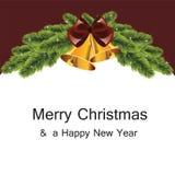 White Christmas tree Stock Photo