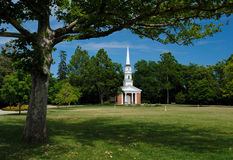 White Church Stock Photos