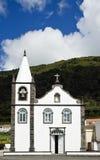 White church. Small church in Pico Island, Azores, Portugal Stock Photos
