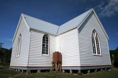 White church,. Otago Peninsula, dunedin, south island, new zealand Stock Photos