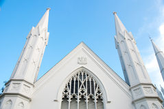 White Church Stock Photography