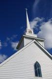 White Church Alaska Highway Royalty Free Stock Images