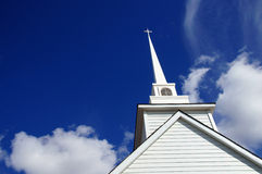 White Church Alaska Highway Stock Photos