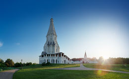 White Church of Ascension, Moscow Royalty Free Stock Image