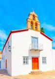 The white church Stock Photos