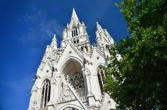 White church blue sky Stock Image
