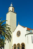 White Church Blue Sky Royalty Free Stock Images