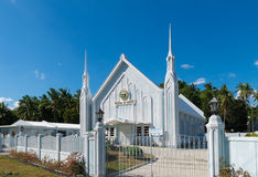 White church Stock Image