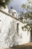White church on Crete Stock Image