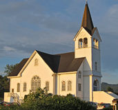 Historic Country Church Stock Photo