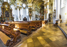 In the White Church Royalty Free Stock Image