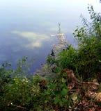 White Church lake Stock Photo