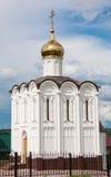White church in Maloyaroslavets Stock Image