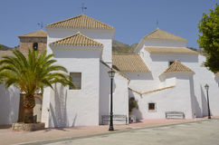 White church in Mijas Stock Photos