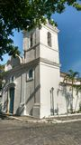 White church. Old town in Cabo Frio, Brazil Stock Photography