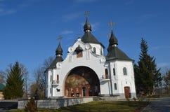 Free White Church On The Battlefield Of Berestechko Stock Image - 113641291