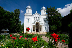 White Church Royalty Free Stock Images