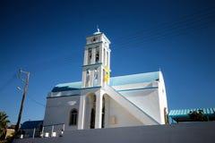 The white church royalty free stock photos