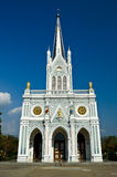 White church, Samut Songkhram, thailand Royalty Free Stock Photo