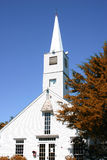 White church steeple Royalty Free Stock Photos