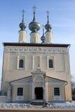 White church in Suzdal Stock Image