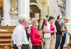 In the White Church Royalty Free Stock Photography